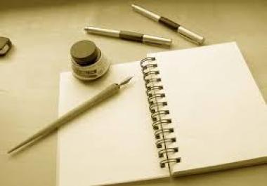 kirjutan artikleid, referaate jne.