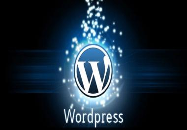 Ma tõstan Sinu olemasoleva kodulehe üle Wordpressile