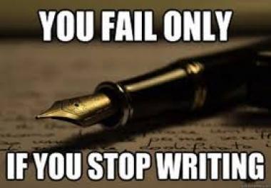 Ma kirjutan kuni 500-sõnalise kirjandi, essee või artikli