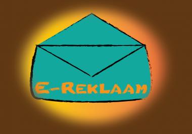 teen e-maili kampaaniaid koos kujunduse ja saatmisega!