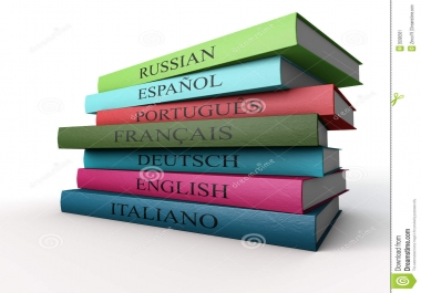 tõlgin vene, inglise,itaalia ja prantsuse keelest 3-7 EUR lk