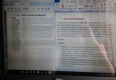 Ma tõlgin tekste (ilukirjanduslikke, teaduslikke, muid) eesti keelest inglise keelde ja vastupidi. Üks lk - 5 eurot.