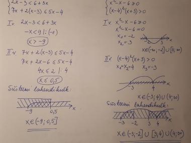 Ma aitan lahendada gümnaasiumi matemaatika ülesandeid