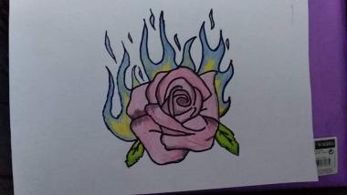 joonistan kurbust ja rõõmu ning ka joonistan kõike