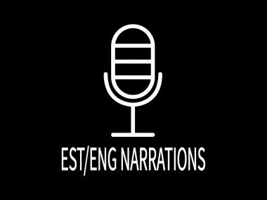 Ma teen narratsioone/voice overeid eesti ja inglise keeles