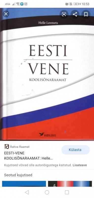 Ma Aitan tõlgid vene-eesti-vene tekste