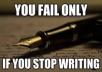 kirjutan kuni 500-sõnalise kirjandi, essee või artikli