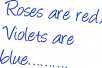 kirjutan luuletusi/riime